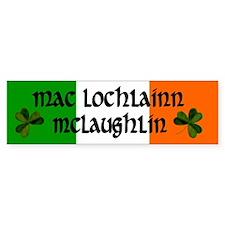 McLaughlin in Irish & English Bumper Bumper Sticker