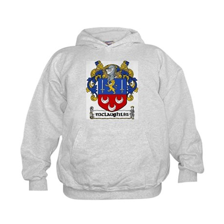 McLaughlin Coat of Arms Kids Hoodie