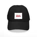 Softball REBT Red Black Cap