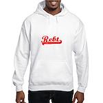 Softball REBT Red Hooded Sweatshirt