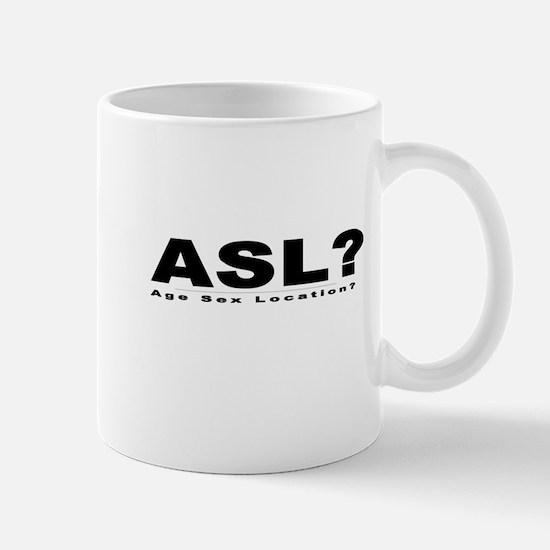 ASL? Mug