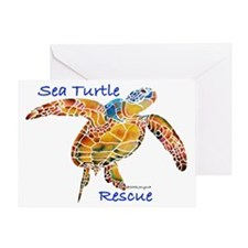 Sea Turtles Greeting Card