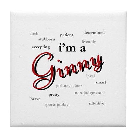 I'm a Ginny Tile Coaster