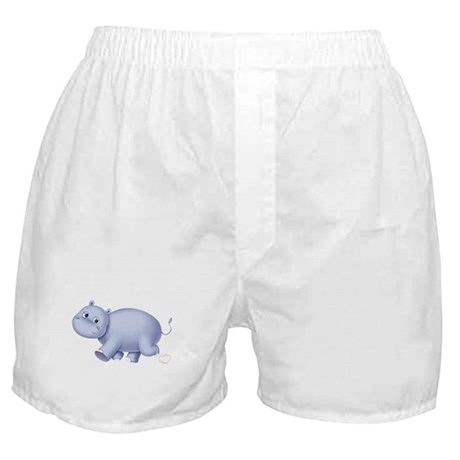 Indigo Hippo Boxer Shorts