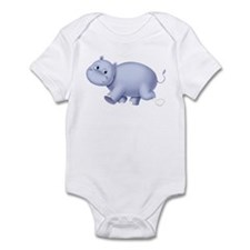 Indigo Hippo Infant Bodysuit