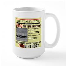 77 birthday Mug