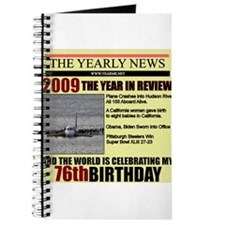 76 birthday Journal