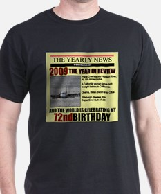 72 birthday T-Shirt