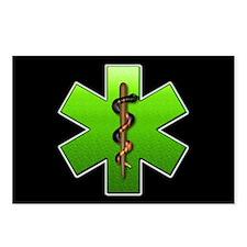 EMT(Green) Postcards (Package of 8)