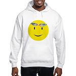 Swimmer Smiley Hooded Sweatshirt