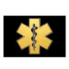 Star of Life(Gold) Postcards (Package of 8)