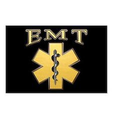 EMT(Gold) Postcards (Package of 8)