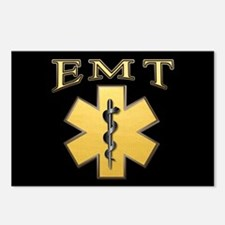 EMT(Gold) Postcards (Package of 8)