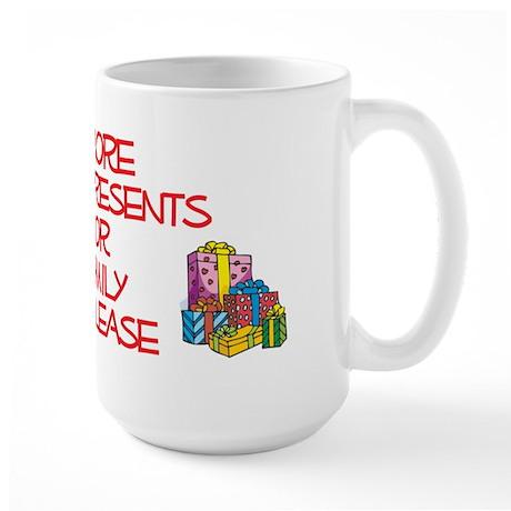More Presents For Emily Large Mug