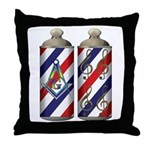 Barber shop quartet Mason Throw Pillow
