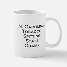 NC Tob Spit Champ Small Small Mug