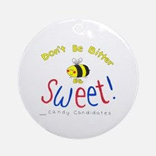 Bee Sweet! Ornament (Round)