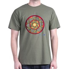 Flower Crop Circle T-Shirt