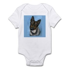 Infant Bodysuit and cute dog
