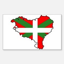 Basque Country Rectangle Decal