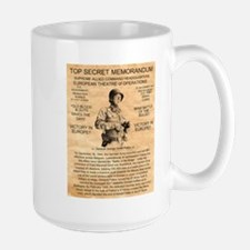 General George Patton Large Mug