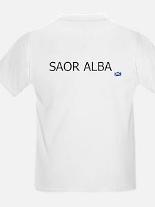 SAOR ALBA - FREE SCOTLAND GAELIC T-Shirt