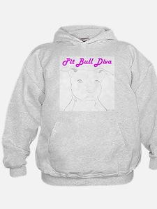 Pit Bull Diva  Hoodie