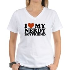 I Love My Nerdy Boyfriend Shirt