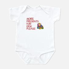 More Presents For Erik Infant Bodysuit