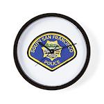 South S.F. Police Wall Clock