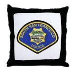 South S.F. Police Throw Pillow
