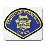 South S.F. Police Mousepad