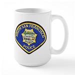 South S.F. Police Large Mug