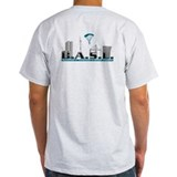 Base jumping Mens Light T-shirts