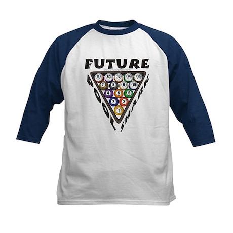 Future Pool Shark 2 Kids Baseball Jersey