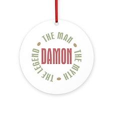 Damon Man Myth Legend Ornament (Round)
