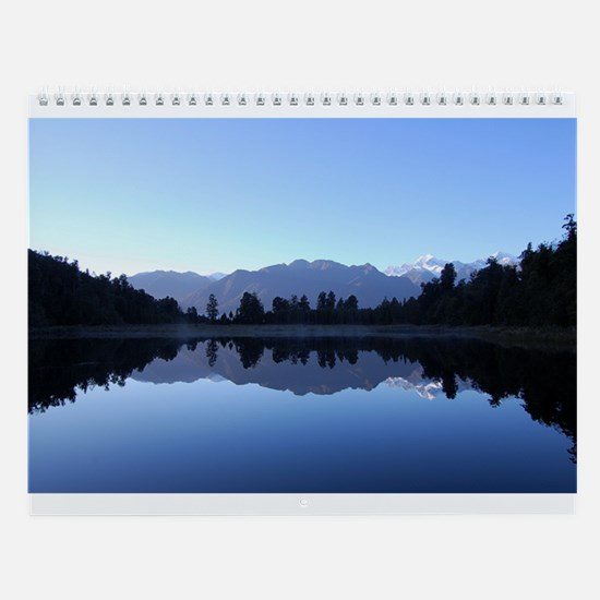 Beautiful New Zealand Wall Calendar