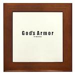 God's Armor(TM) Framed Tile