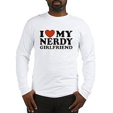 I Love My Nerdy Girlfriend Long Sleeve T-Shirt