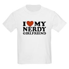 I Love My Nerdy Girlfriend T-Shirt