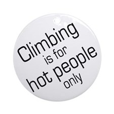 Hot Climbers Keepsake (Round)