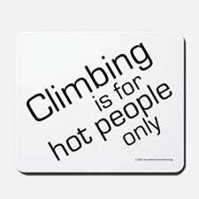 Hot Climbers Mousepad