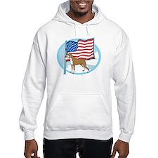 Patriotic Boxer Hoodie