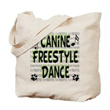 K9 Freestyle Dance Tote Bag