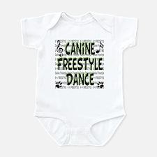 K9 Freestyle Dance Infant Bodysuit