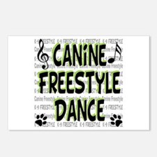 K9 Freestyle Dance Postcards (Package of 8)