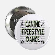 "K9 Freestyle Dance 2.25"" Button"