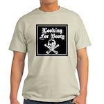 Skull and cross bones Ash Grey T-Shirt