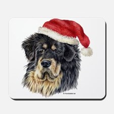 Christmas Tibetan Mastiff Mousepad