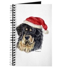 Christmas Tibetan Mastiff Journal